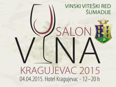 Salon Vina Kragujevac 2015 promo