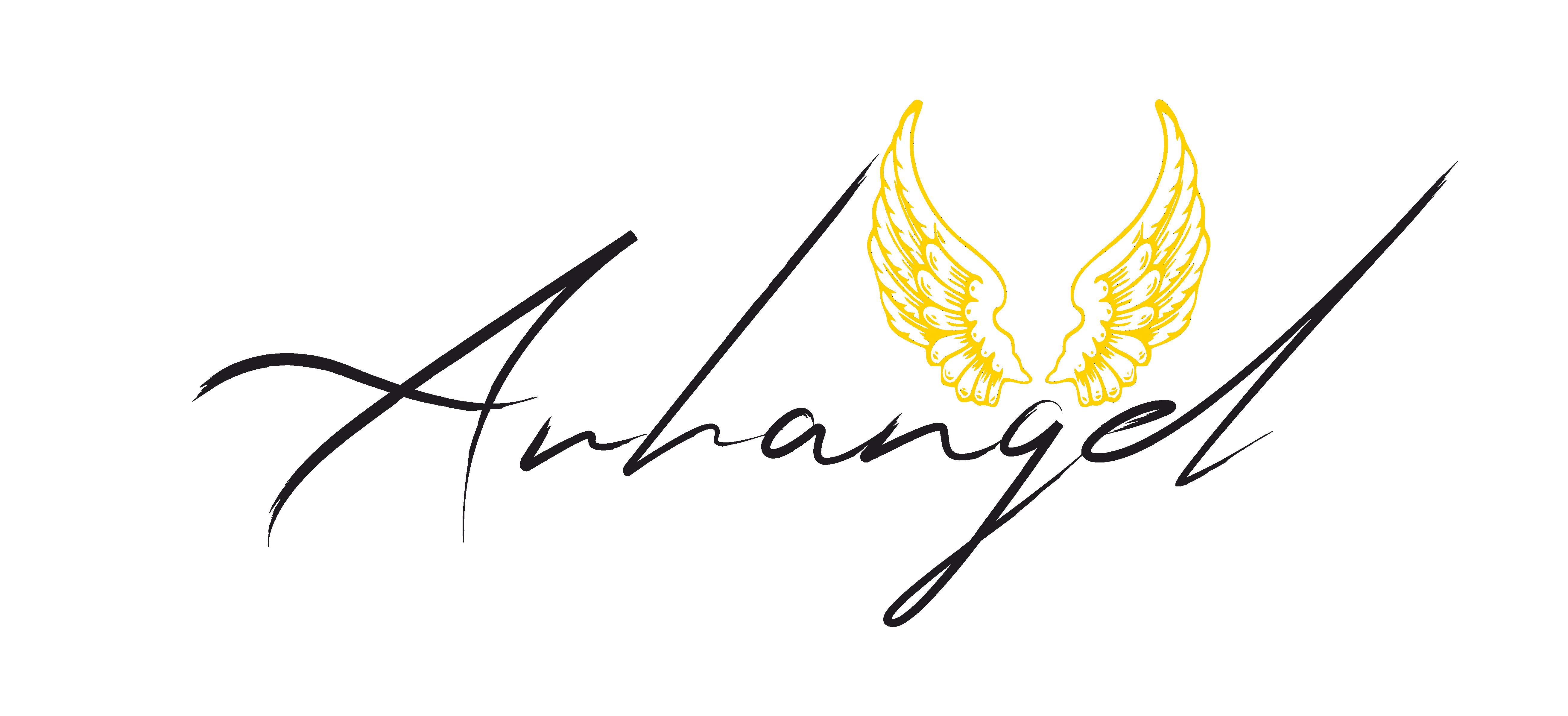 Arhangel logo FULL no BG black